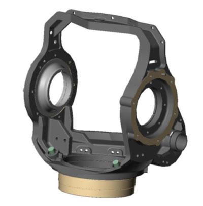 Figure 2: Machined Gimbal